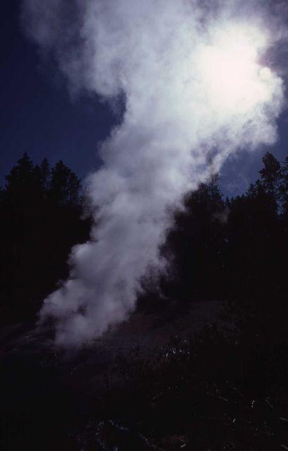 Steamboat Geyser - Norris Geyser Basin Picture