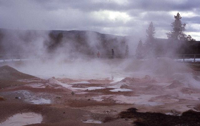 Fountain Paint Pot - Mud Pots, Midway & Lower Geyser Basin Picture