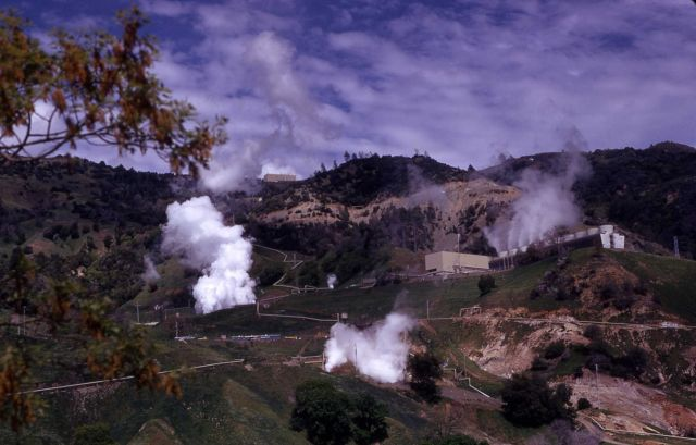 The Geysers - Sonoma Co., California Picture