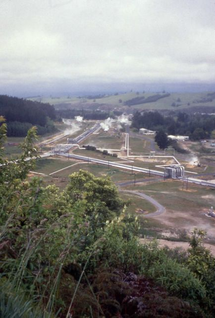 Power plant in New Zealand Picture
