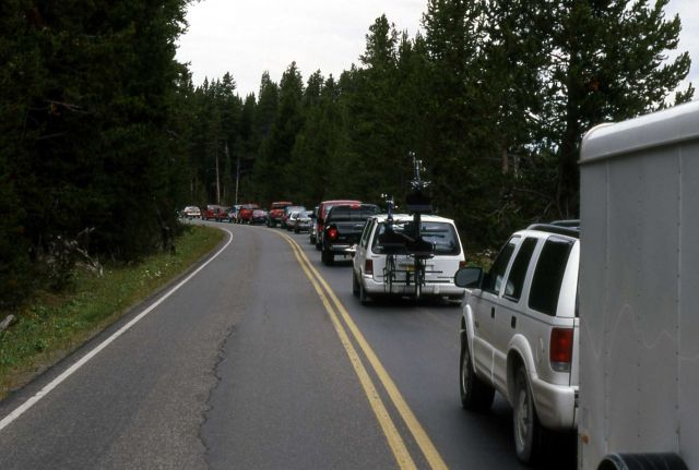 Traffic jam at Buffalo Ford Picture