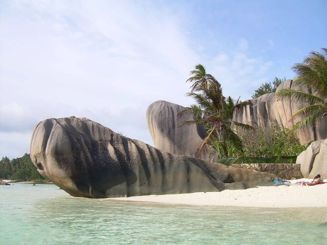 Seychelles Beach - Southeast Africa Picture