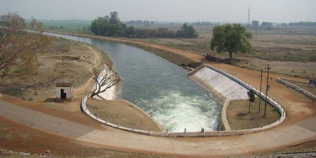 Hirakud Dam, Orissa Picture