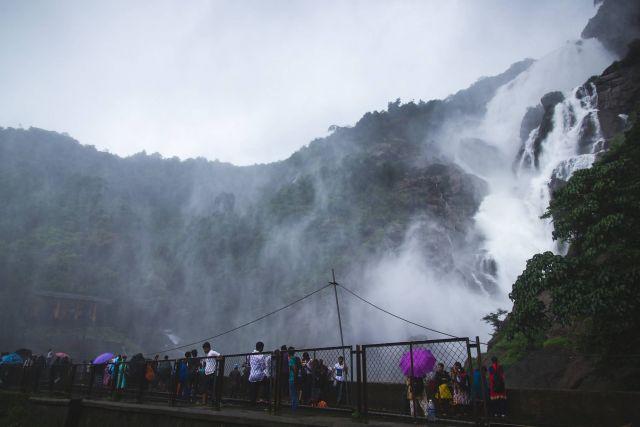 Dudhsagar Waterfall - Goa Picture