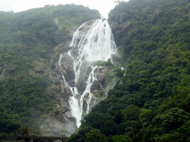 Dudhsagar Waterfall - Goa Picture