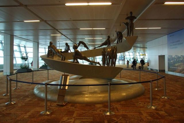 New Delhi Indira Gandhi International Airport Picture