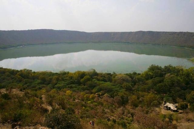 Lonar Crater Lake Picture