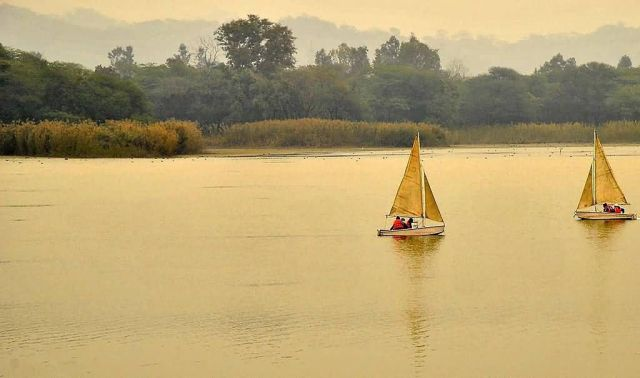 Sukhna Lake, Chandigarh Picture