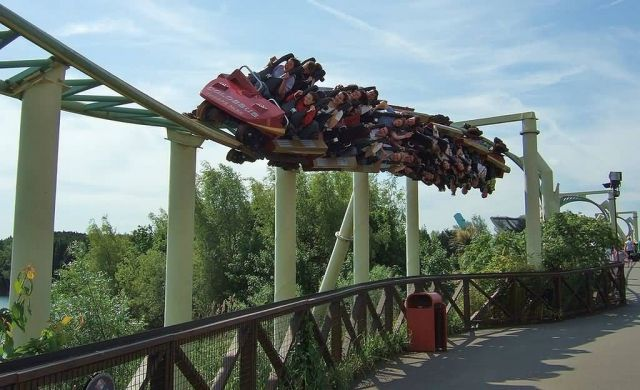 Colossus at Thorpe Park - Surrey, U.K. Picture