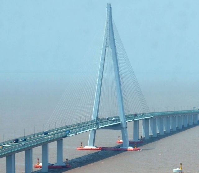 The Hangzhou Bay Bridge - China Picture