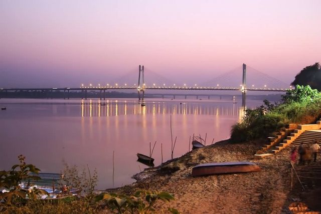 New Yamuna Bridge, Allahabad Picture