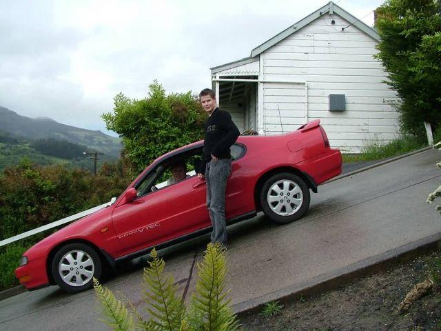 Baldwin Street - New Zealand Picture