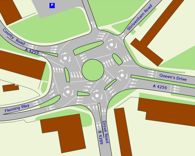Magic Roundabout - England Picture
