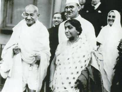 Sarojini Naidu Picture
