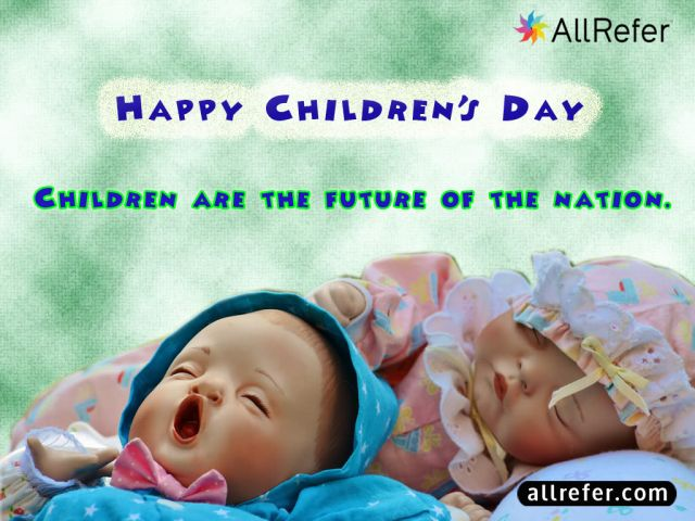 Happy Children's Day - Children are the future of the Nation Picture
