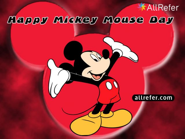 Happy Birthday Mickey Mouse - Happy Mickey Mouse Day Picture