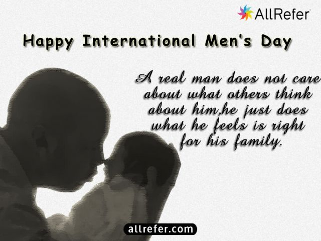 Happy International Men's Day Picture