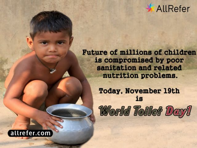 World Toilet Day - 19 November Picture