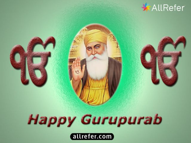 Happy Gurupurab - Happy Guru Nanak Jayanti - Happy Gurpurab Picture