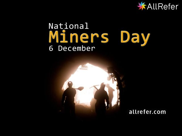 National Miner's Day - 6 December Picture