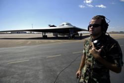 B-2 Spirit aircrew - Green Lighting tests Pacific bomber force Photo