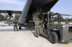 Ramstein Air Base - Assisting Americans Photo