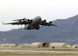 C-17 Globemaster III aircraft - C17s aiding with efforts in Lebanon Photo