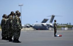 15th Airlift Wing at Hickam - Hickam AFB welcomes its final C-17 Photo