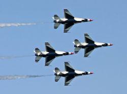 U.S. Air Force Air Demonstration Squadron - Milwaukee air show Photo