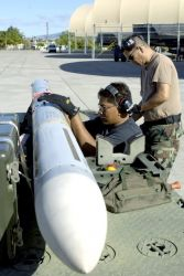 AIM-7 Sparrow missile - Total force at work in RIMPAC Image