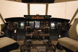 C-5 Galaxy cockpit - Dover AFB receives new maintenance trainer Photo