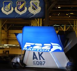 Lockheed Plant in Marietta - PACAF unveils first F-22 Photo