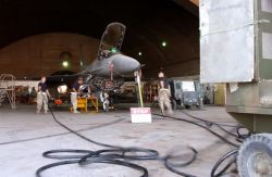 F-16 Fighting Falcon - Maintenance teams work to keep F-16s flying Photo
