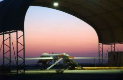 Balad Air Base - Waiting for the night Photo