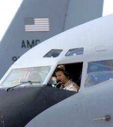 KC-135 Stratotanker - Supporting OEF Photo
