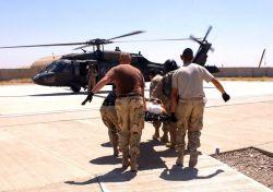 Kirkuk Air Base - Medical evacuation Photo