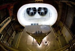 X-48B - Research lab tests fuel-efficient, flying-wing aircraft Photo