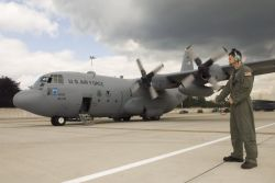 C-130 Hercules - C-130 mission in Germany Photo