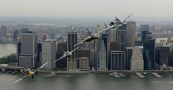 P-51 Mustang - Heritage Flight over New York Photo