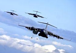 C-17 Globemaster III - C-17 airdrop training mission Photo