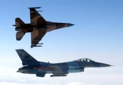 F-16 Fighting Falcons - Red Flag-Alaska wraps up Photo