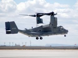 CV-22 Osprey tilt-rotor aircraft - Osprey gets new nest Photo
