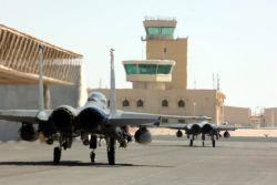 Two F-15E Strike Eagles - Strike Eagles ready to strike Photo