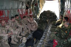 C-130 Hercules - Coalition troop movement Photo