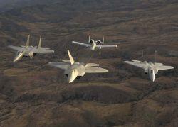 F-15 Eagles - Heritage flight Photo