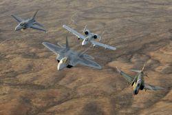 F-22A Raptor - Heritage flight Photo