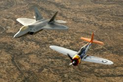 P-47 Thunderbolt - Heritage flight Photo