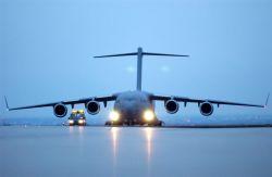 C-17 Globemaster III - Thanks for the lift Photo