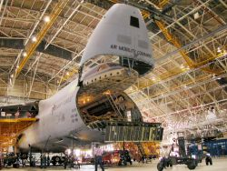 ROBINS AIR FORCE BASE - Stepping up airlift support Photo