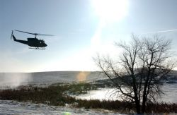 UH-1N - Cold-weather capture Photo